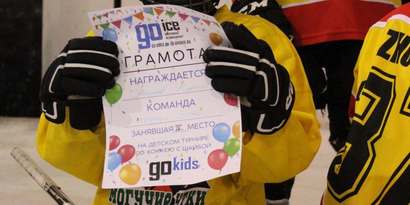 Заключительный детский турнир по хоккею с шайбой «Go KIDS»