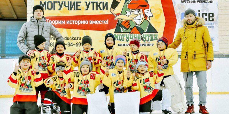 Детская вечерняя группа по хоккею с шайбой