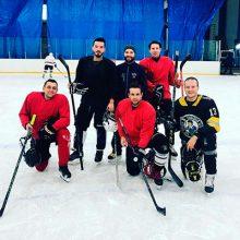 Тренировка на льду